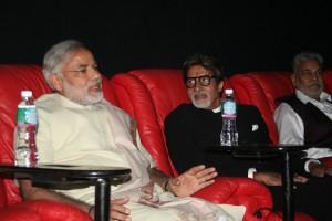 Narendra Modi meets Amitabh Bachchan